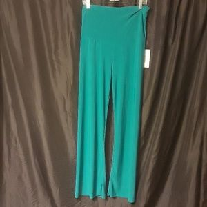 Honey and Lace Pacific Palazzo Pants in Teal GREEN